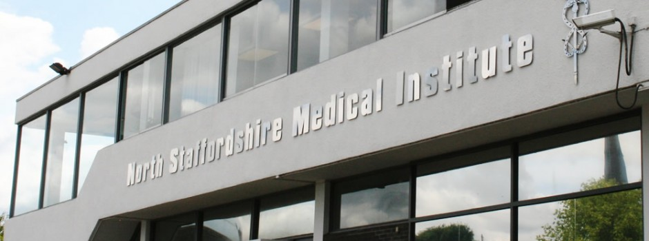 North Staffordshire Medical Institute | Raising funds for